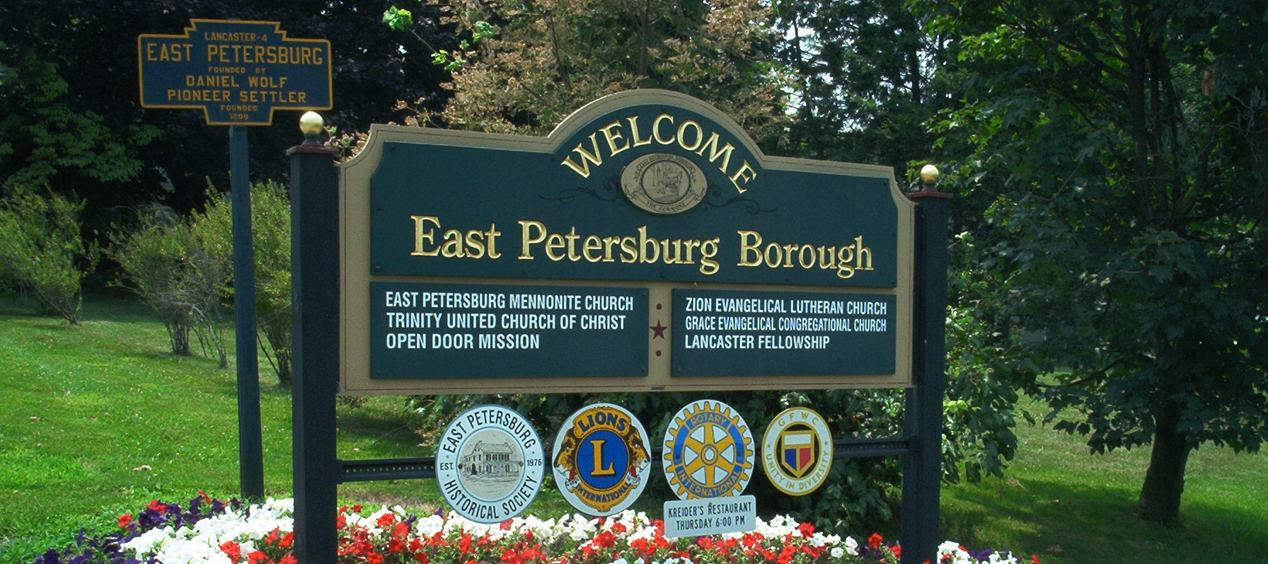 East Petersburg Pa >> Welcome Sign 2007 Rv3 Jpg
